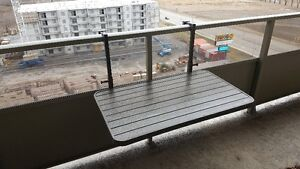 Large Collapsable Table suitable for Apartment Balcony
