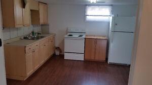 1 bdr basement suite s.w. hill