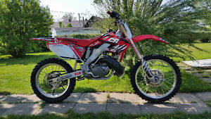 Honda cr250 2temps