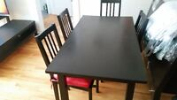 ikea dining  table  ( negotiable )