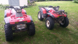 Wanted all Honda 350 trx fourtrax running or not