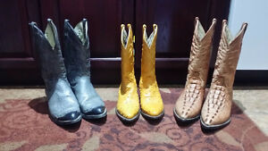 Cowboy boots for sale NEW OR LIKE NEW!