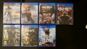 7 games for PS4
