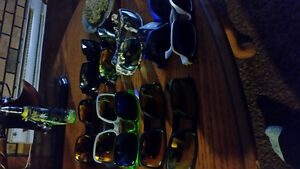 Brand new real spy Ken block in lots of colors and 2 pairs oakle