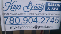 Kaya beauty salon and spa  ( home based for females only)