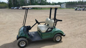 REDUCED PRICE ON THIS 2009 YAMAHA GAS GOLF CART