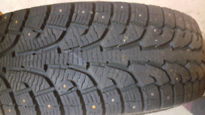 "4 Studded 18"" Hankook Winter Tires"
