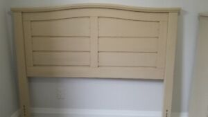 Pier1 Queen Size Headboard & Lingerie Chest-price is negotiable