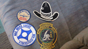 Martial Arts patches and others