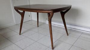 Table mid-century vintage en teck