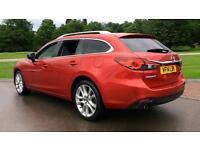 2014 Mazda 6 2.2d (175) Sport Nav 5dr Manual Diesel Estate