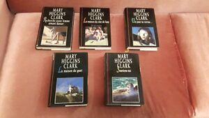 5 livres de Mary Higgins Clark