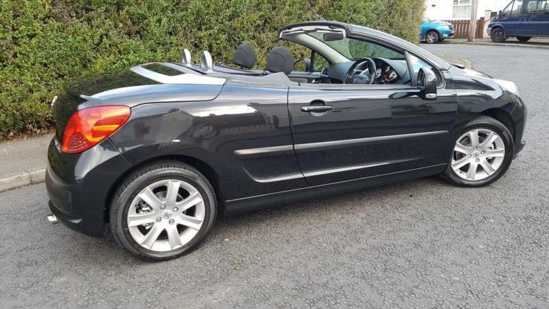 48000 MILES FROM NEW2008 PEUGEOT 16 SPORT CC ELECTRIC FOLDING HARD TOP CONVERTIBLE307cc308208