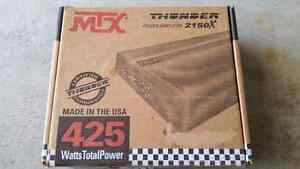 MTX 2 channel car amplifier - perfect for Subs!  Windsor Region Ontario image 5
