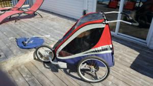 Chariot double - corsaire XL