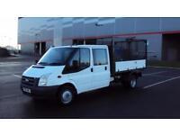 Ford Transit 2.4TDCi Duratorq ( 115PS ) 350L ( DRW ) 350 LWB Tipper