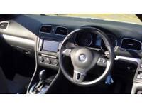 2012 Volkswagen Golf 2.0 TDI BlueMotion Tech SE DSG Automatic Diesel Cabriolet