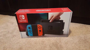 ***Brand New Sealed Neon Nintendo Switch***