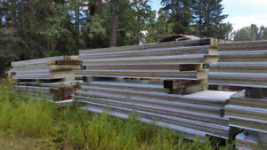 """Insulated Panels ,  Kingspan 42"""" by 25 ft.  rockwool insulated"""
