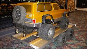 Rc scale truck trailer