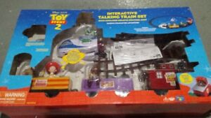 Toy Story 2 Interactive Talking Train Set