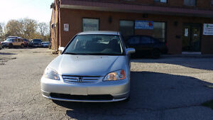 2003 Honda Civic With Extra WinterTires - Safety Included !