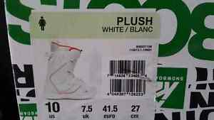 Women's size 10 snowboard boots Prince George British Columbia image 2