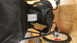 Like new Graco Rixen 3-wheel jogger stroller.