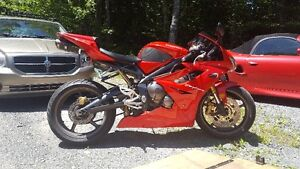 07 675 mint...heated grips. angel st's two brothers. only 5400$