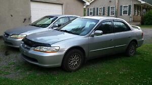 Two Honda Accords for sale