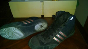 male Adidas Wrestling Shoes size 7 1/2