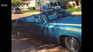 Beautiful 67 Cadillac Deville convertible