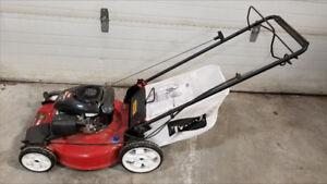"Like New Toro Recycler 22"" self propelled bagger mower"