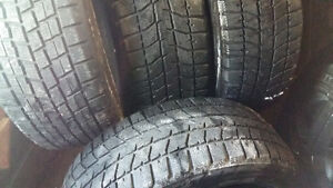 WINTER TIRES   215 / 45 /17   (SET OF 4$165)