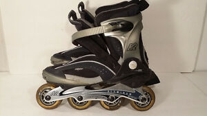 patins a roulette taille 8.5 femme with pads
