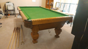 Olenhaus Pool Table - Pick Up In Brampton