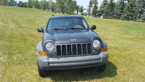 2006 Jeep Liberty SPORT SUV, Crossover WINTER IS ALMOST HERE!!!