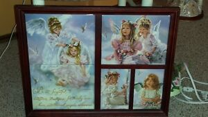 Framed picture of Baby Angles