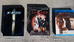 Films Blu-Ray/DVD à vendre, différents titres $2 chaque
