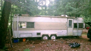 Removal of unwanted camper trailers,rvs, utility trailers