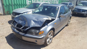 2004 BMW 3 SERIES JUST IN FOR PARTS AT PIC N SAVE! WELLAND