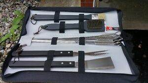 BBQ UTENSIL SET WITH CASE