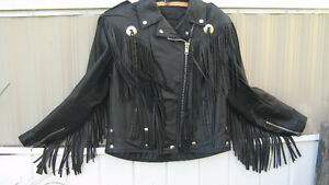 HARLEY DAVIDSON FRINGE LEATHER JACKET