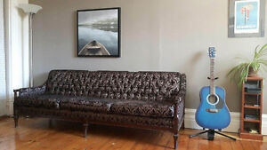 Canapé, sofa, couch, vintage, retro