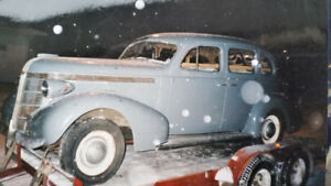 1937 Canadian Pontiac 224 4 Door Sedan Suicide Doors