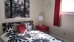 Beautifully decorated bedroom in Allendale