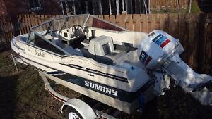 Bateau Sunray Strike One 15' boat