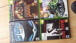 Xbox/PS2 GAMES