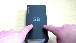 Samsung S8 - Never used, Sealed in box, 64gb, Unlocked