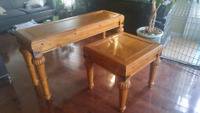 Console and Corner table